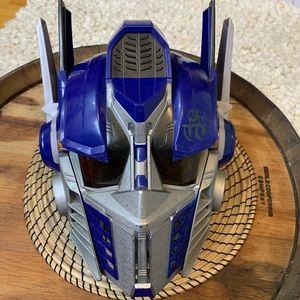 Transformer Optimus Prime Voice Cosplay Helmet